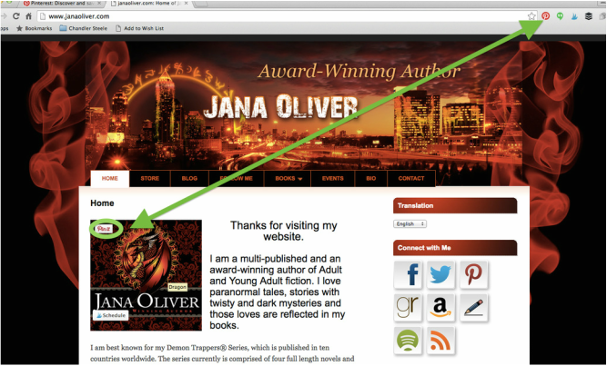Want to learn how to use the Pinterest Browser to add pins to your boards? Check out www.tyraburton.com/the-geeky-side/