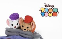 The characters from Disney's Rescuers as Tsum Tsums.
